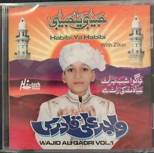 Habibi Ya Habibi. CD. Wajid Ali Qadri Vol 1. NEW. STILL SEALED. ZIKAR.