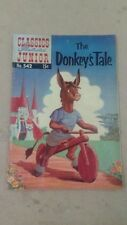 # Vintage Classics Illustrated Junior The Donkey's Tale Comic No. 542