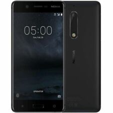 Mint Condition Nokia 5 16GB Matte Black Unlocked Android Smartphone 12M Warranty