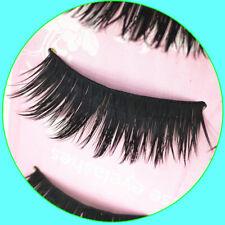 5Pairs Handmade Natural Cross Long Eye Lashes Makeup Thick Fake False Eyelashes