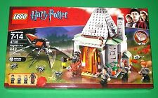 NEW!! Retired Lego Harry Potter 4738 HAGRID'S HUT Factory Sealed