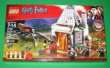 NEW!! Retired Lego Harry Potter 4738 HAGRID'S HUT Factory Sealed