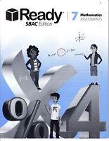 Ready Grade 7 Mathematics Assessments SBAC Edition NO WRITING