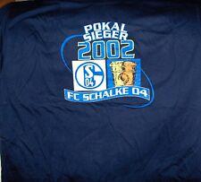 FC SCHALKE 04 - T-Shirt Dt. Pokalsieger 2002,blau,Gr. XL ,Neu,Lizenz