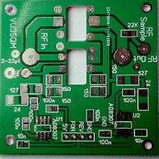 Tandem Match Coupler using  AD8307 PCB  for measuring Fwd Rev Voltage VSWR in RF