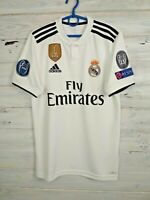 Real Madrid Jersey 2018/19 Home XS Shirt Mens Camiseta Football Adidas DH3372
