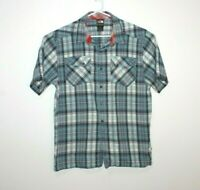 The North Face Button Up Short Sleeve Shirt Men's Size Large