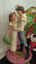 Rare Disney Tangled Ever After Rapunzel Flynn Wedding Christmas Ornament New Htf