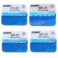 5Pcs/pack AZDENT Dental Two Layers Diamond FG Burs fit for High Speed Handpiece