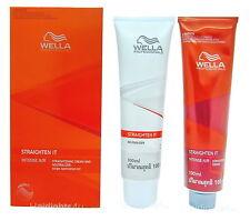 Wella WELLASTRATE Straighten It Straightening Intense N/r Hair Cream X 2