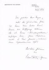"""Konstantin Prinz von Bayern 1920-69 genuine autograph typed letter signed 8""""x12"""""""