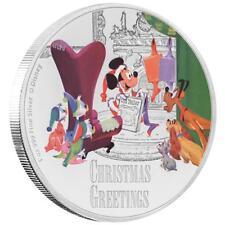 Niue - 2 Dollar 2017 - Disney™ Season's Greetings Classic (3.) - 1 Oz Silber PP