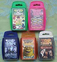 Top Trumps Specials - Harry Potter & the Prisoner of Azkaban, Shrek 2, (5 packs)