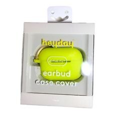 Heyday Earbud Case Cover - Wireless Charging Compatible - Lime Green - New