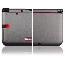 Skinomi Full Body Brushed Steel Game Skin+Screen Protector for Nintendo 3DS XL