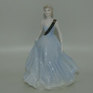 Coalport England figurine Royal Caledonian Ball Only Available 1993