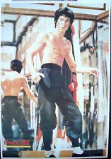 Enter The Dragon Taiwanese movie poster Bruce Lee Jim Kelly John Saxon