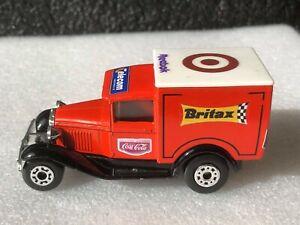 CODE 3 Matchbox MB38 Ford Model A Van BRITAX. COCA COLA. REEBOK. WARSTIENER