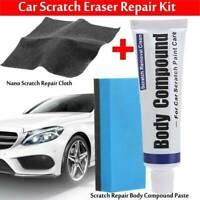 Magic Car Scratch Remover Nano Polish Cloth +Paint Scuffs Body Compound Paste_AU