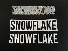 Sizzix Die Cutter SNOWFLAKE WORD CHRISTMAS  Thinlits fits Big Shot Cuttlebug