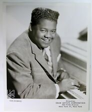 ORIGINAL 1950's 8x10 Publicity Photo Fats Domino Soul