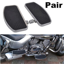 High Quality Pair Adjusted Motorcycles Left+Right Floorboards Foot Boards Pedal