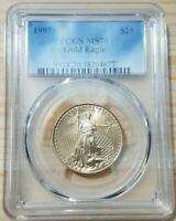 1997 American Gold Eagle $25 (1/2 oz.) PCGS MS 70 Registry Set Coin!