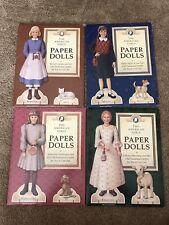 American Girl Doll Paper DollsMolly Kirsten Samantha Felicity