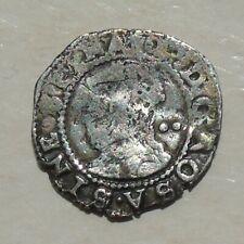 More details for elizabeth i half-groat tudor coin mm key 17mm 0.95g hammered 2d 1595-1598, s2579