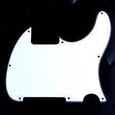 Replacement Guitar Pickguard For G&L ASAT Classic Solamente Esquire ,3ply White