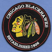 """New Chicago Blackhawks Est.1926  3  """" Iron on Patch Free Shipping"""