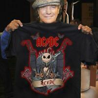 AC/DC band Halloween BLACK T-shirt