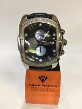 Invicta Aqua Master Jojo Lupah St Steel Watch 1.50ct diamonds