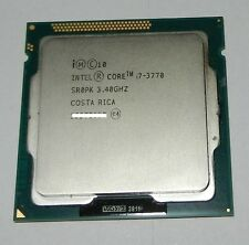 Intel Core i7-3770 3.4Ghz 8MB  Socket LGA1155 Processor SR0PK