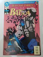 DETECTIVE COMICS Featuring BATMAN #664 (1993) DC COMICS KNIGHTFALL Pt 12 BANE!