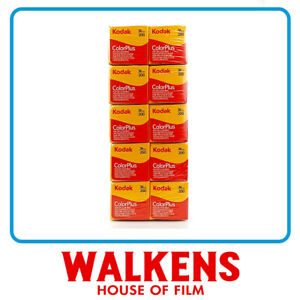 Kodak ColorPlus 200 35mm Camera Film - 10 roll Brick - FLAT-RATE AU SHIPPING!