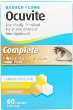 Ocuvite Complete Eye Vitamins & Minerals - 60 Capsules