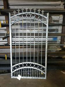 Wrought Iron Single Gate 12