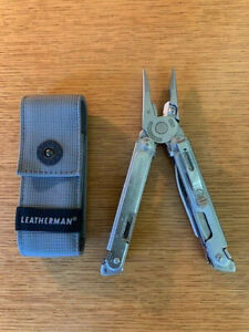 Leatherman Free P4 Multi-Tool Stainless Steel with Grey Nylon Sheath