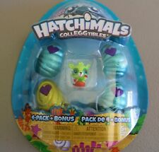 Hatchimals CollEGGtibles, Mermal Magic 4 Pack + Bonus Season 5 Rare Mer-buckle