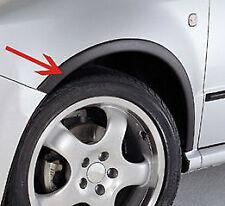 RENAULT CLIO IV année 2012-....  Extensions d'aile 2AV et 2AR Noir mat