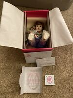 "Marie Osmond Porcelain Dolls Rachael Tiny Tot 6"" 2002 #4004 W/box & COA"