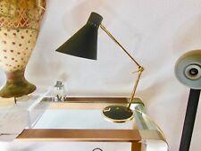 Lampe  a poser ou APPLIQUE DESIGN années 1950 vintage