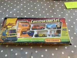 MATCHBOX  MODEL  GIFT SET  No.G-13      CONSTRUCTION  SET