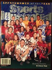 1999 Women's World Cup US Soccer Signed Sports Illustrated Sportswomen Of Year