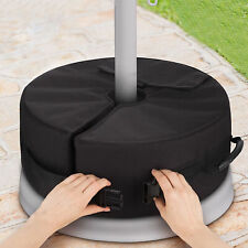 Round Parasol Sunshade Base Weight Bag Tent Sand Bag Up To 15kg Detachable