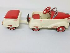1940 Custom Roadster With Trailer Hallmark Kiddie Classic