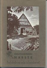 Johannes Grönhoff: Hassee, 1964