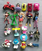 Mixed Lot 20 MC  girls Happy meal toys- Used C36