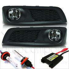 For 10-12 Subaru Legacy Fog Lights w/Wiring Kit & HID Conversion Kit - Clear